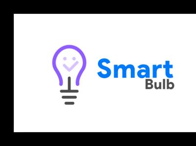 Smart Bulb-Logo Design branding vector illustration design concept design concept bulb logo sensors smart bulb smarthome