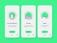 Onboarding for a Travel App