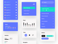 UI Elements for Information Visualization App