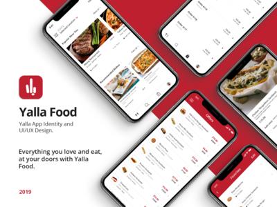 Yalla Food app | UI UX Design