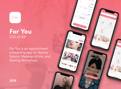 For You App || Booking UI Kit