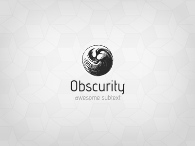 Obscurity Logo logo obscurity