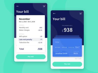 Payment app WIP