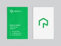 Newly - Business cards