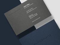 Mono - Business Card