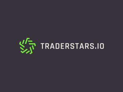 TraderStars.io - Logo Design money finance invest service platform star trade identity branding logo
