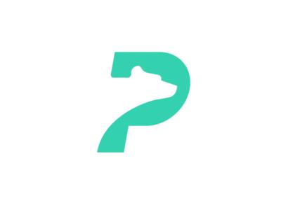P + Bear - Logo Design logo brand mark negative space money trade transfer finance payment currency crypto bear pay