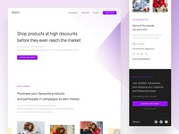 Shopco - Landing page