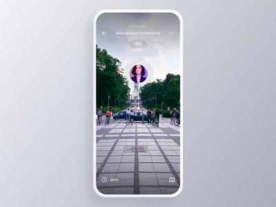 AR Localizer Interaction web design typography product design print illustration branding animation motion camera live augmented reality ux ui scan spot location pin mobile app ar