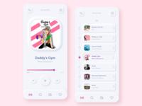 Neumorphism music radio app rose web design sketch appdesign skeumorph skeumorphism 设计 应用 music app trend2020 trend iphone pink mobile app neumorphic shadow app ui clean neumorphism