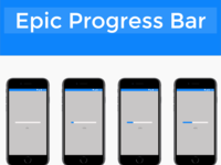 Epic Progress Bar