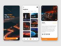Tourism App UI