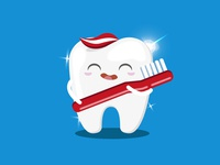 Children's tooth character for Superdrug