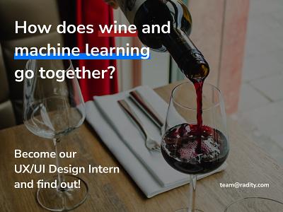 UX/UI Design Intern Wanted ui design ux design design ui ux internship uxuidesign