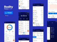 Radity Finance UI Kit - Free