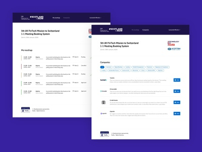 Meet UK ux design web design booking ux ui