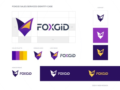 Logo Case brand identity showcase identitydesign logobranding logocreation logo design branding logo illustration light minimalism preview design creative uiux web-design web-mosaica