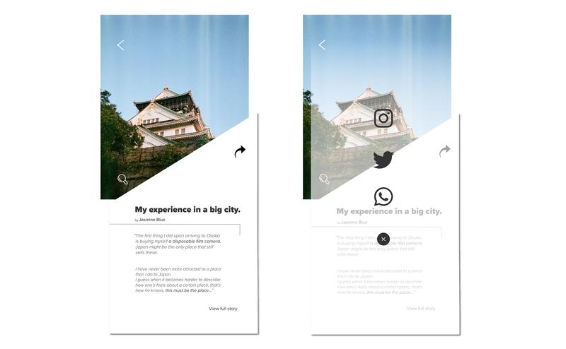 Daily UI - Social Share share button ui  ux design mobile ui ui dailui