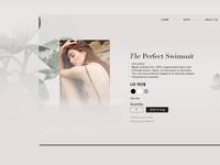 Daily UI - E-commerce(Single item)