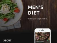 mobile app for men