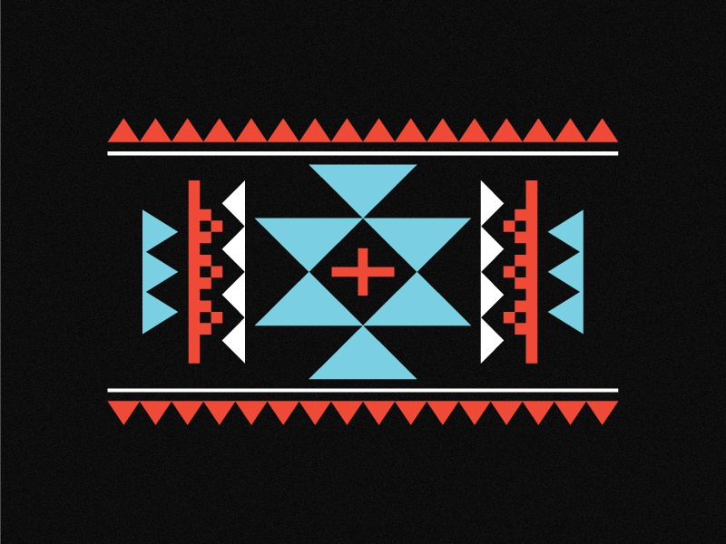 Simple Aztec Pattern by Titus Smith - Dribbble