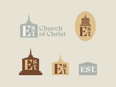 Exchange Street design icon type badge identity brand logo