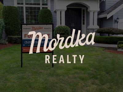 Mordka script brand type logo custom type lettering script design brand identity illustration branding
