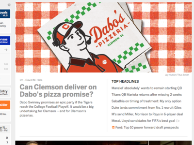 Clemson's Pizza Party