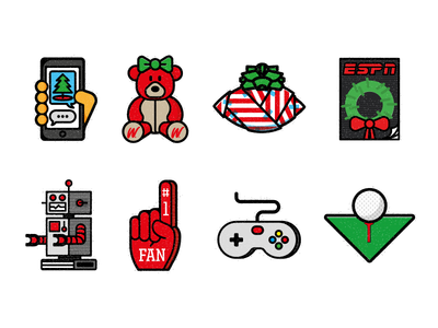 ESPN Gift Guide 2015 holiday christmas sports icons