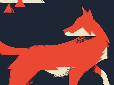Red Wolf endangered alphabeast typehike