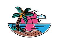 Dribbble Beach