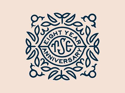 eight years married badge anniversary