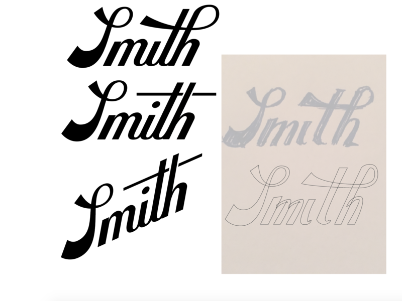 smithscript script lettering