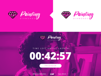 Logo Design - Painting Diamonds