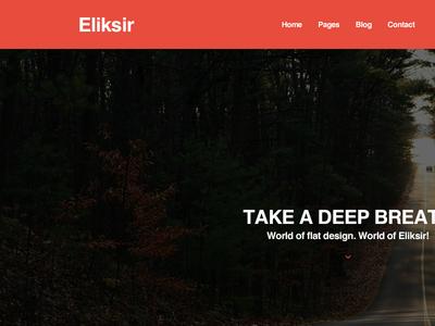 Eliksir - PSD template