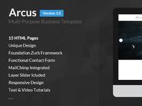 Arcus | Muti-Purpose Business Template