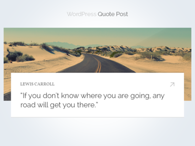 Wordpress Quote Post