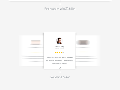 Bukku - FREE eBook HTML/CSS Template freebie download clean simple ux ui design print book ebook template free