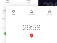 Timer - Web App Design
