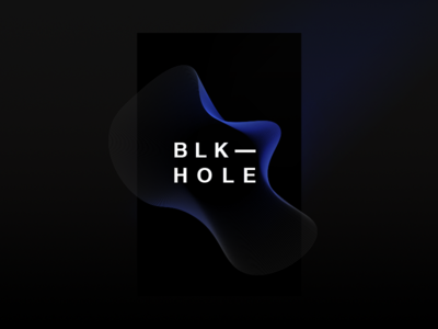 Book Cover Exploration - Black Hole