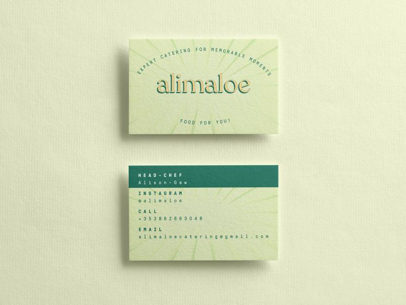 Alimaloe illustration sticker cooking chef typogaphy food design illustrator business card branding logo