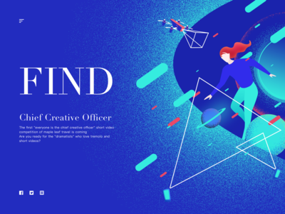 Chief creative officer illustration