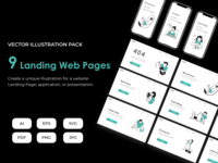 Corporate Web and Mobile Landing Pages