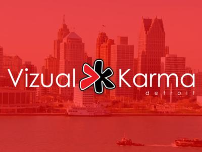 Vizual Karma Logo
