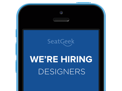 SeatGeek is Hiring seatgeek hiring jobs