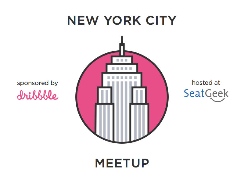 NYC Dribbble Meetup @ SeatGeek dribbble nyc designers meetup new york city
