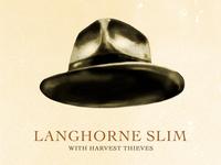 Langhorne Slim Poster
