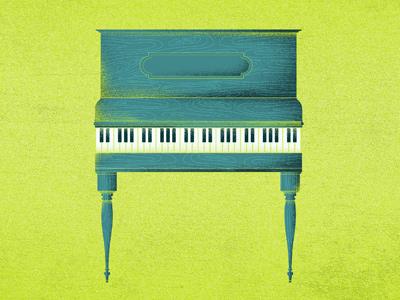 Like Ivory Typewriter Keys illustration texture cd artwork