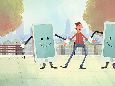 Mascot v Mascot new york plaid mascot illustration