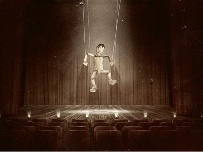 Dance Puppet, Dance! cd cover illustration puppet